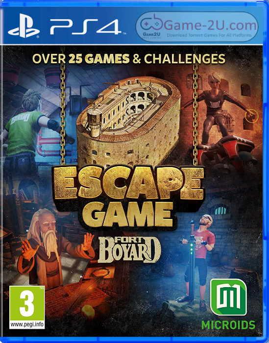 Escape Game Fort Boyard PS4 PKG