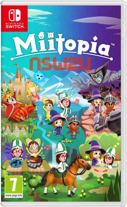 Miitopia Switch NSP XCI NSZ [Full Game]
