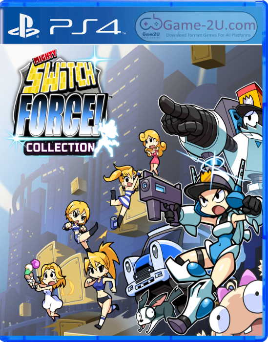 Mighty Switch Force! Collection PS4 PKG