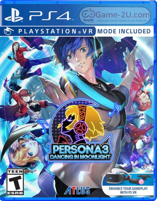 Persona 3: Dancing in Moonlight PS4 PKG