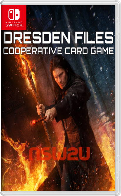 The Dresden Files Cooperative Card Game Switch NSP XCI