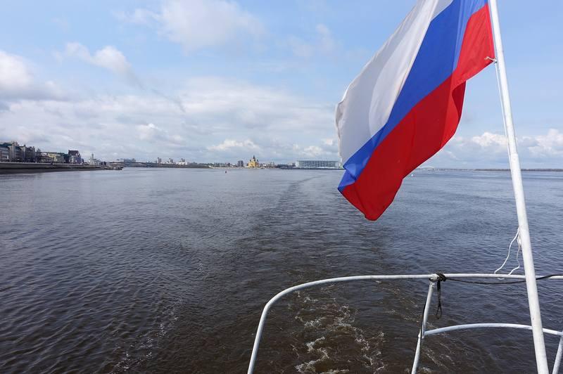 Начало круиза Нижний Новгород - Москва