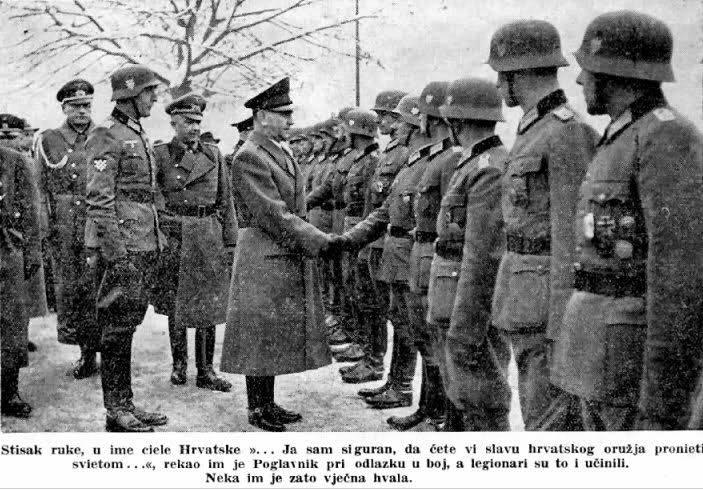 Хорватия в войне против СССР