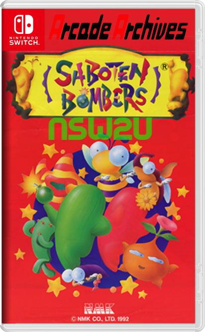 Arcade Archives SABOTEN BOMBERS Switch NSP XCI