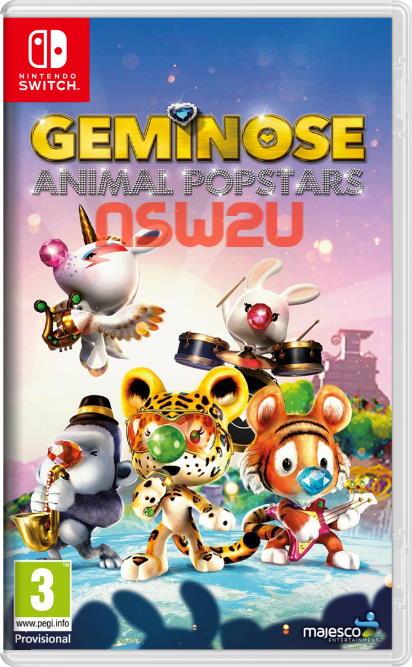 Geminose Animal Popstars Switch NSP XCI NSZ