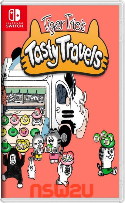 Tiger Trio's Tasty Travels Switch NSP XCI NSZ