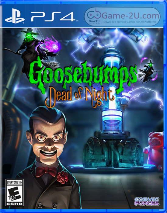 Goosebumps Dead of Night PS4 PKG