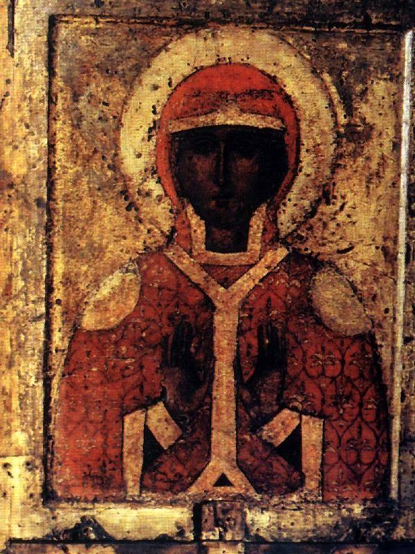 Saint Paraskevi (back of Fyodorovskaya Theotokos)