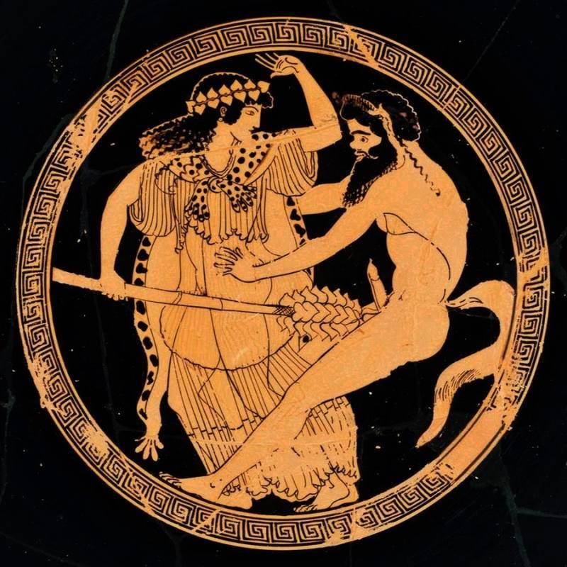 Бог вина Дионисий