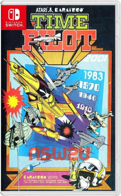 Arcade Archives TIME PILOT '84 Switch NSP XCI