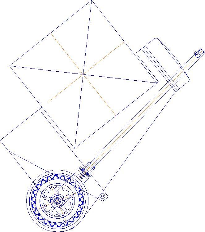 Велокомета Курьер 3