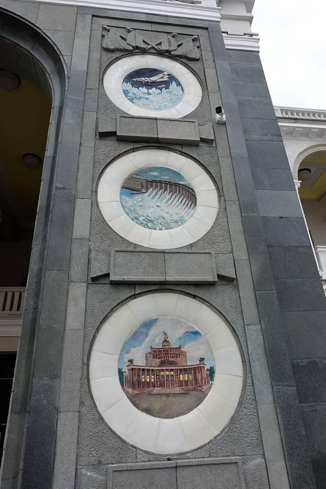 Скверный речной вокзал Москвы