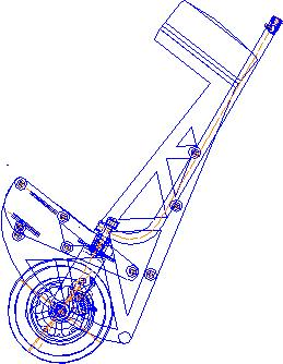 Велокомета Курьер 5