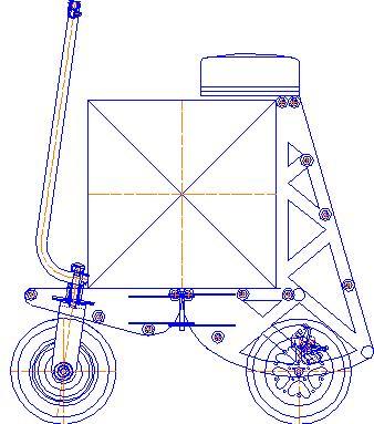 Велокомета Курьер 6