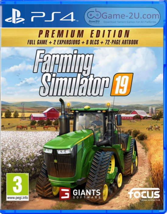 Farming Simulator 19 – Premium Edition PS4 PKG