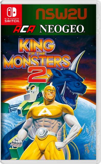 ACA NEOGEO KING OF THE MONSTERS 2 Switch NSP XCI