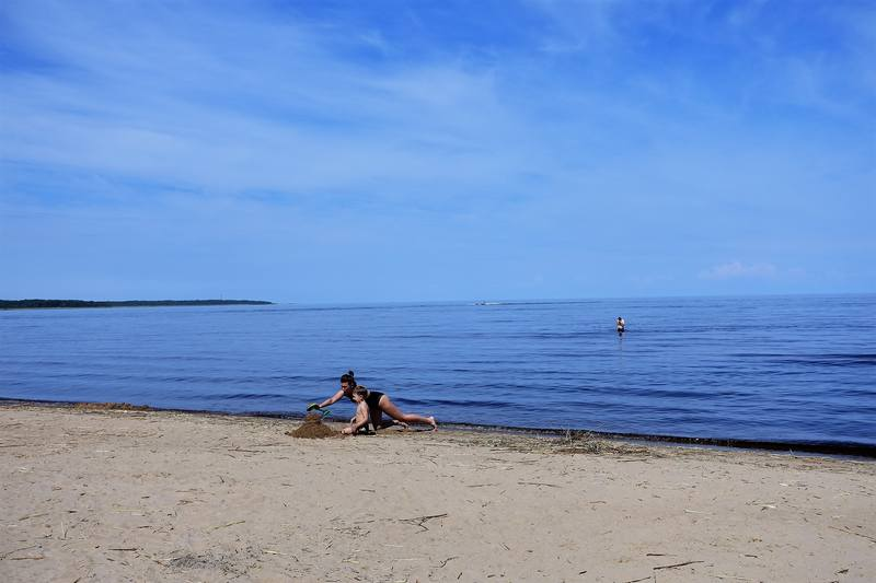 Ладожское озеро, Коккоревский пляж