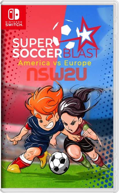 Super Soccer Blast: America VS Europe Switch NSP XCI
