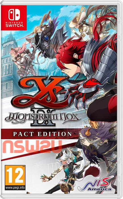 Ys IX: Monstrum Nox Switch NSP XCI NSZ
