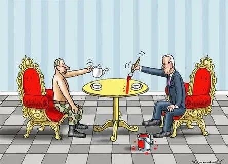 Встреча в Женеве Путина и Байдена