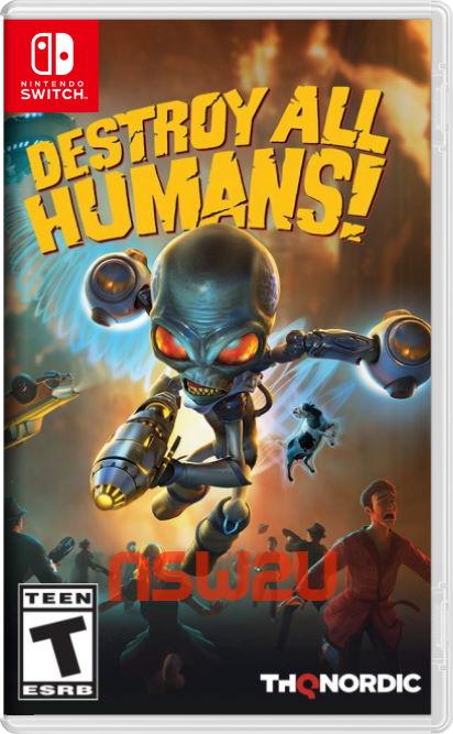 Destroy All Humans! Switch NSP XCI NSZ