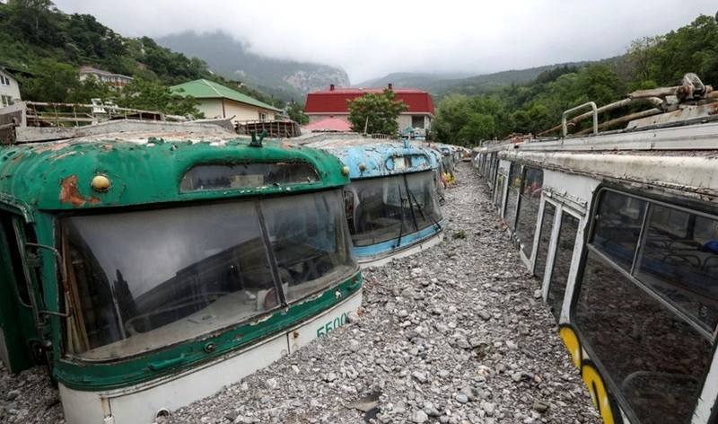 Наводднение в Крыму
