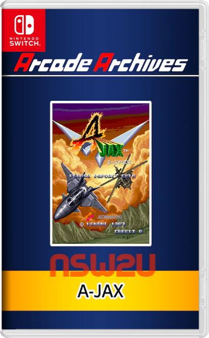 Arcade Archives A-JAX Switch NSP XCI NSZ