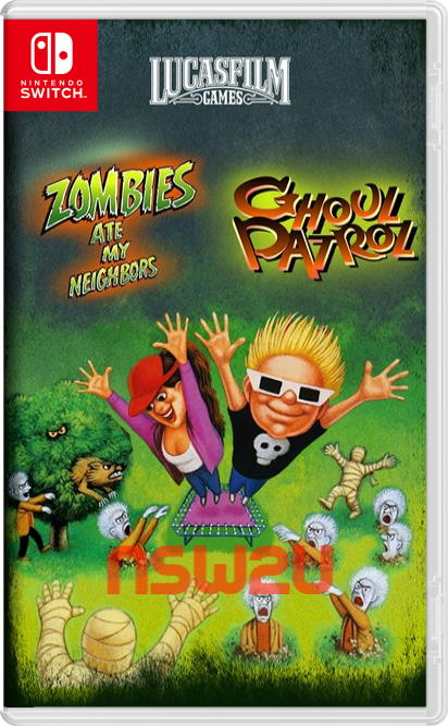 Zombies Ate My Neighbors and Ghoul Patrol Switch NSP XCI NSZ