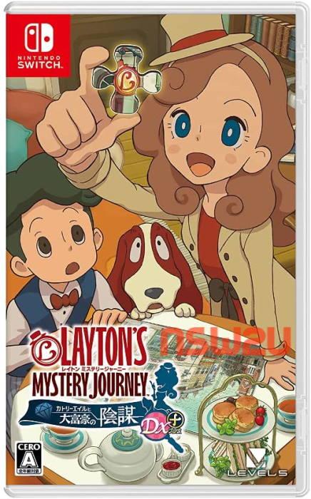 Laytons Mystery Journey Katrielle to Daifugo no Inbo DX Plus Switch NSP XCI