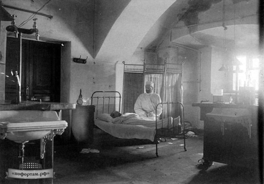 Protivochumnaya laboratoriya na forte Alexandr 13