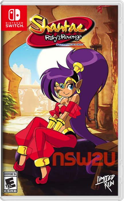 Shantae: Risky's Revenge – Director's Cut Switch NSP XCI NSZ