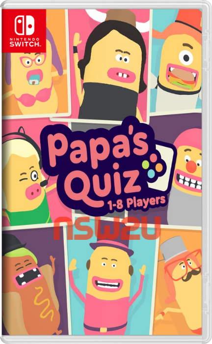 Papa's Quiz Switch NSP XCI NSZ
