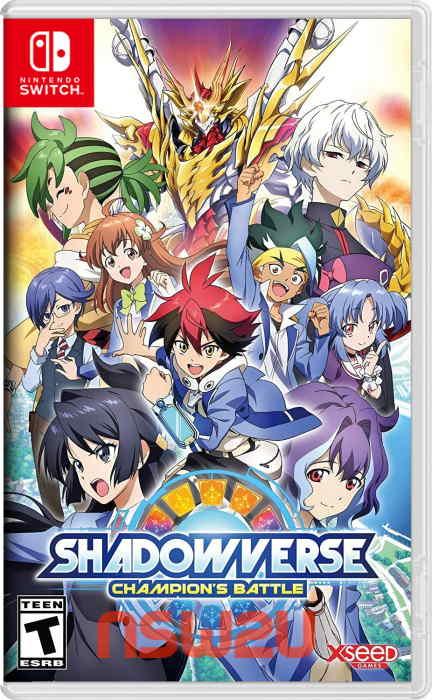 Shadowverse: Champion's Battle Switch NSP XCI NSZ
