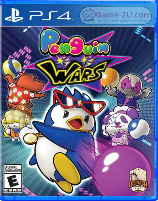 Penguin Wars PS4 PKG