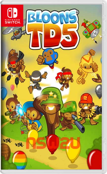 Bloons TD 5 Switch NSP XCI