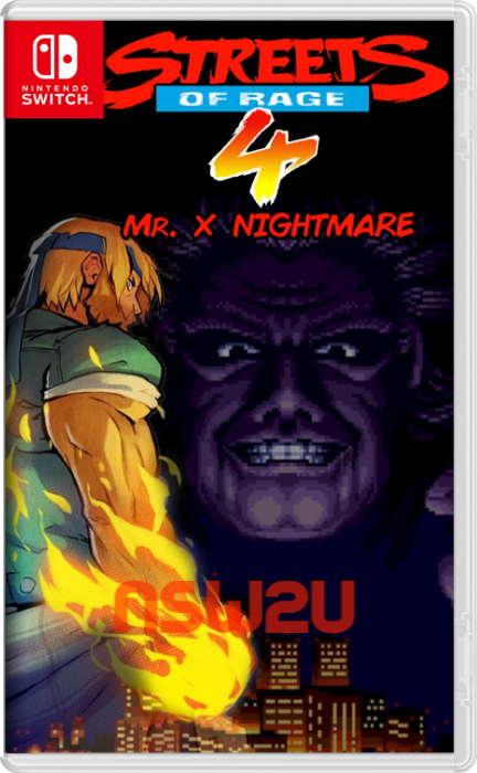 Streets of Rage 4 Switch NSP XCI