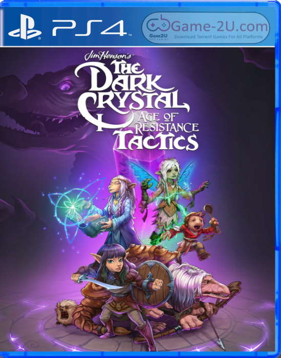 The Dark Crystal: Age of Resistance Tactics PS4 PKG