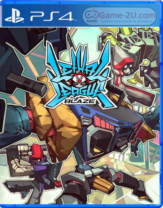 Lethal League Blaze PS4 PKG