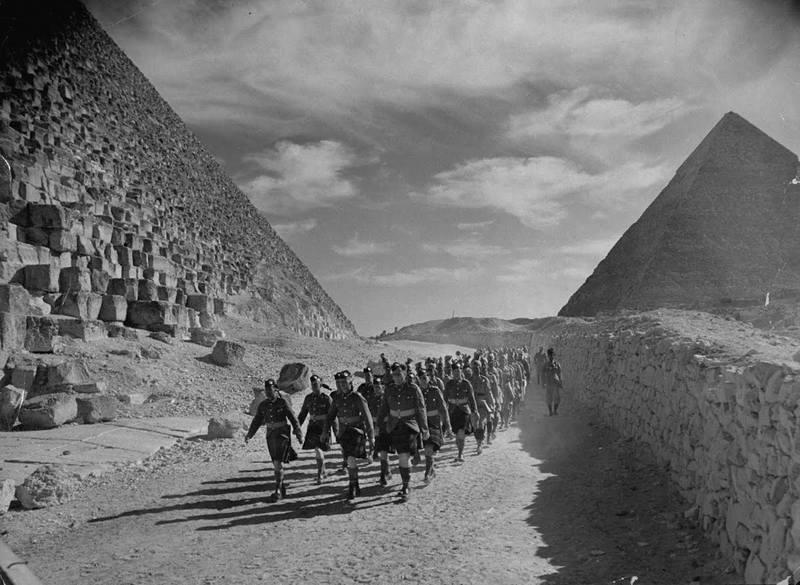 наступление в Египте