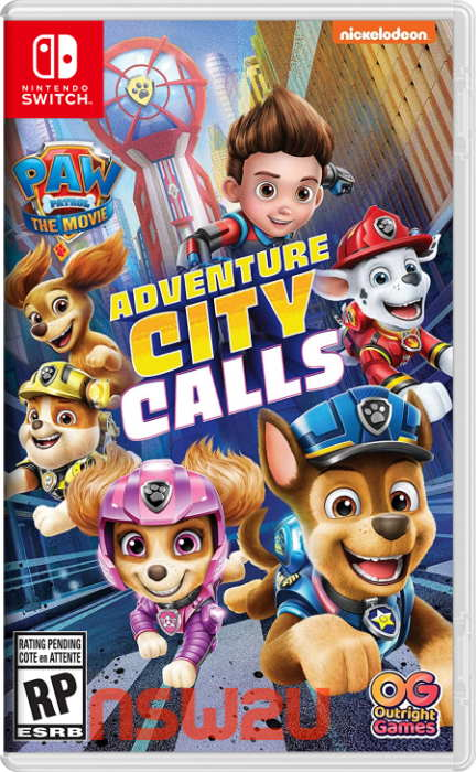 PAW Patrol The Movie: Adventure City Calls Switch NSP XCI NSZ