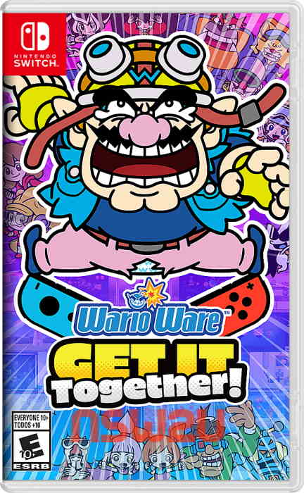 WarioWare: Get It Together! Switch NSP XCI