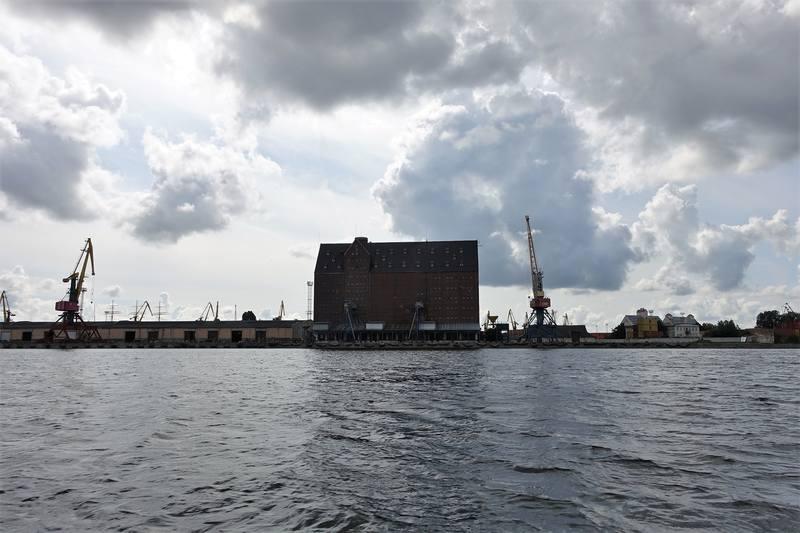 Калининград с кораблика
