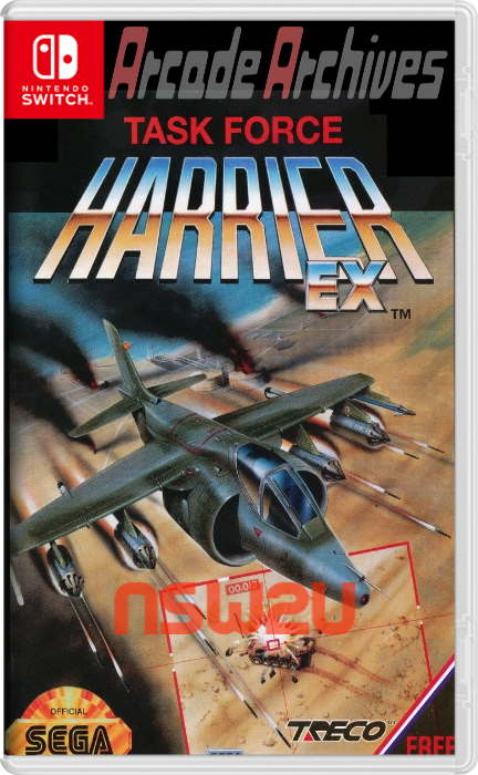 Arcade Archives TASK FORCE HARRIER Switch NSP XCI NSZ