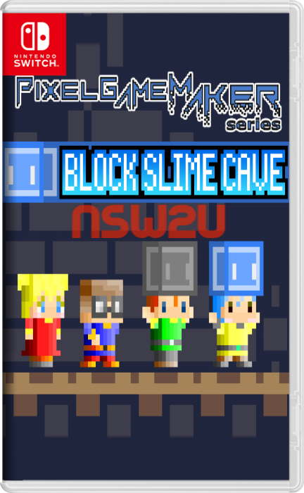 Pixel Game Maker Series BLOCK SLIME CAVE Switch NSP XCI