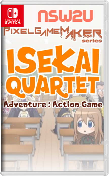 Pixel Game Maker Series ISEKAI QUARTET Adventure:Action Game Switch NSP XCI