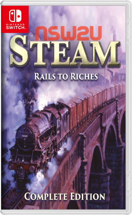 Steam: Rails to Riches Complete Edition Switch NSP XCI