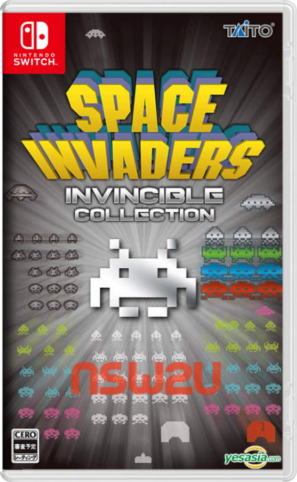 SPACE INVADERS INVINCIBLE COLLECTION Switch NSP XCI