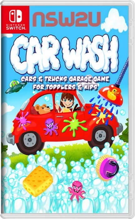Car Wash – Cars & Trucks Garage Game for Toddlers & Kids Switch NSP XCI