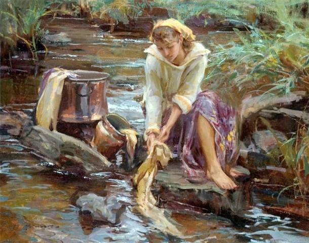 Современный американский художник Даниэль Герхартц...