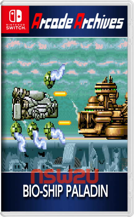 Arcade Archives BIO-SHIP PALADIN Switch NSP XCI